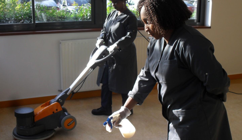 Atelier d'insertion aux métiers de l'hygiène et propreté